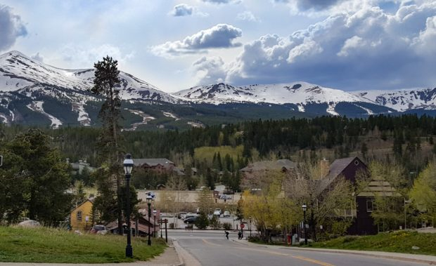 Breckenridge Colorado and Mountains Photo by Tammy Powell
