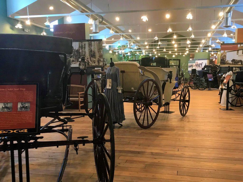 Northwest Carriage Museum museum main gallery