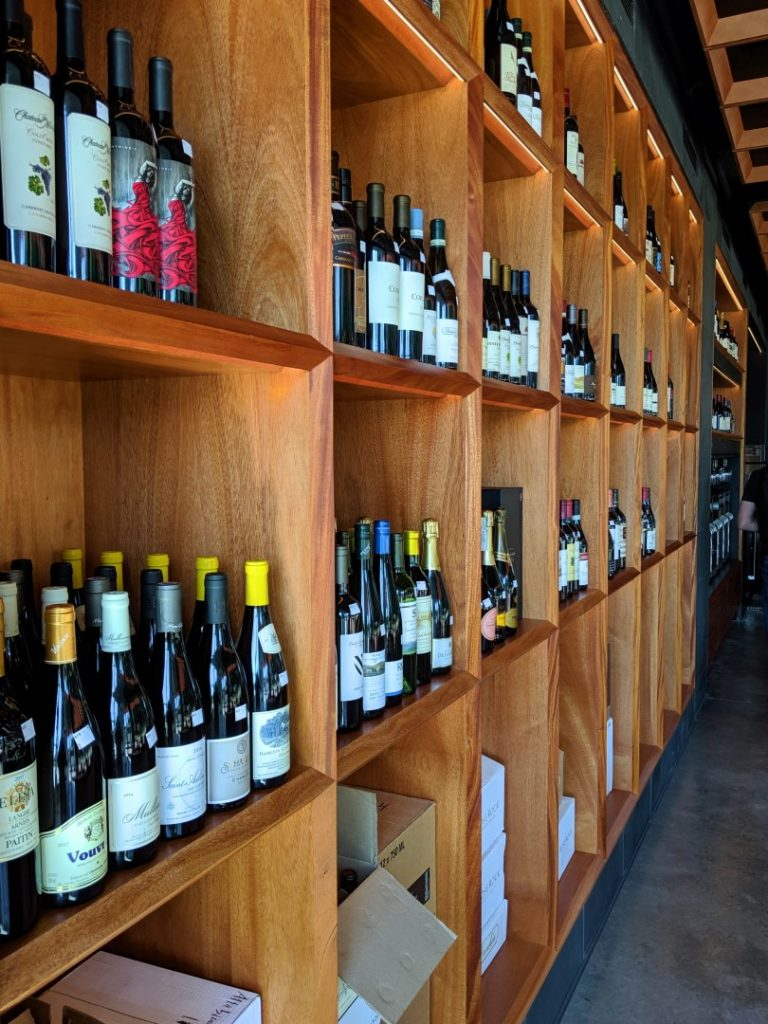 wine at the Pullman Wine Bar