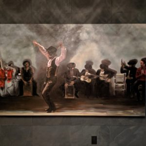 Pullman Bar flamenco art