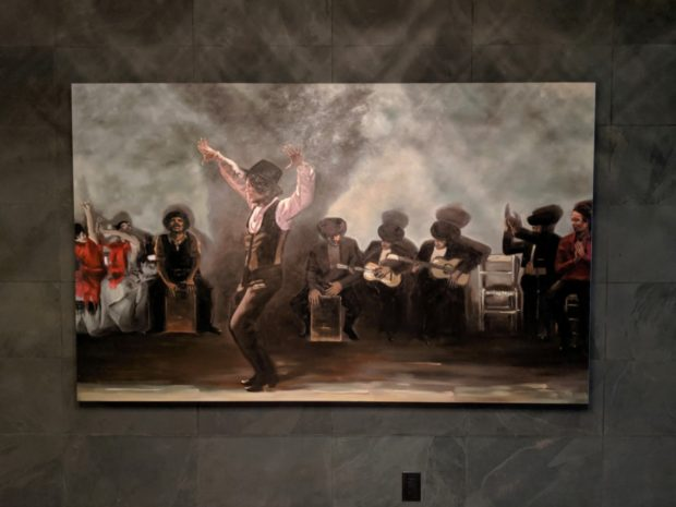 Pullman Bar flamenco art