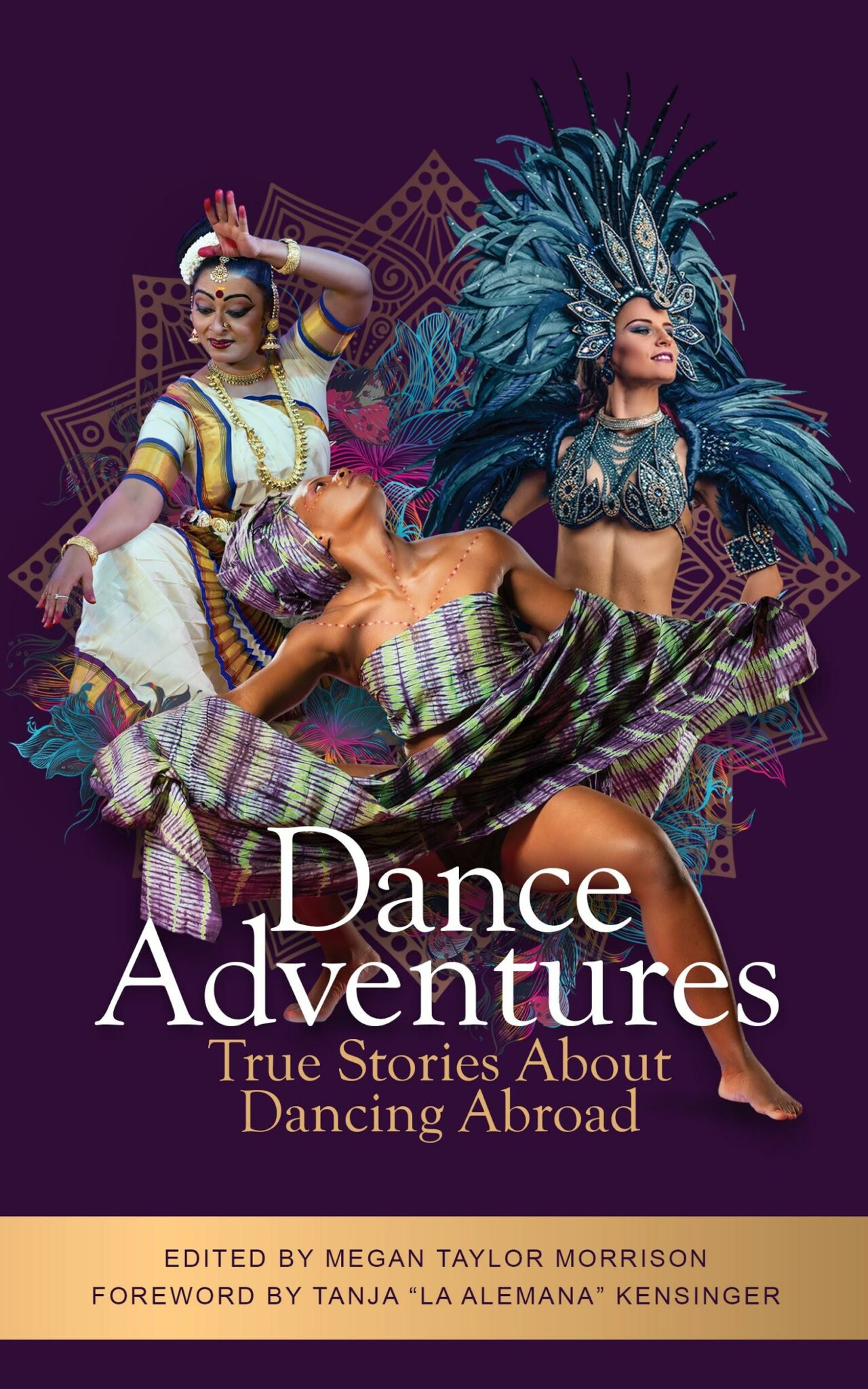 Dance adventures dance travel book cover