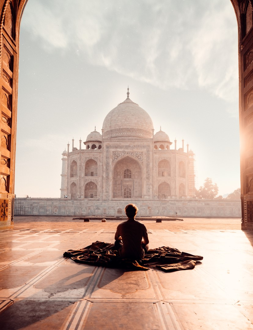 travel the world using fragrance in india