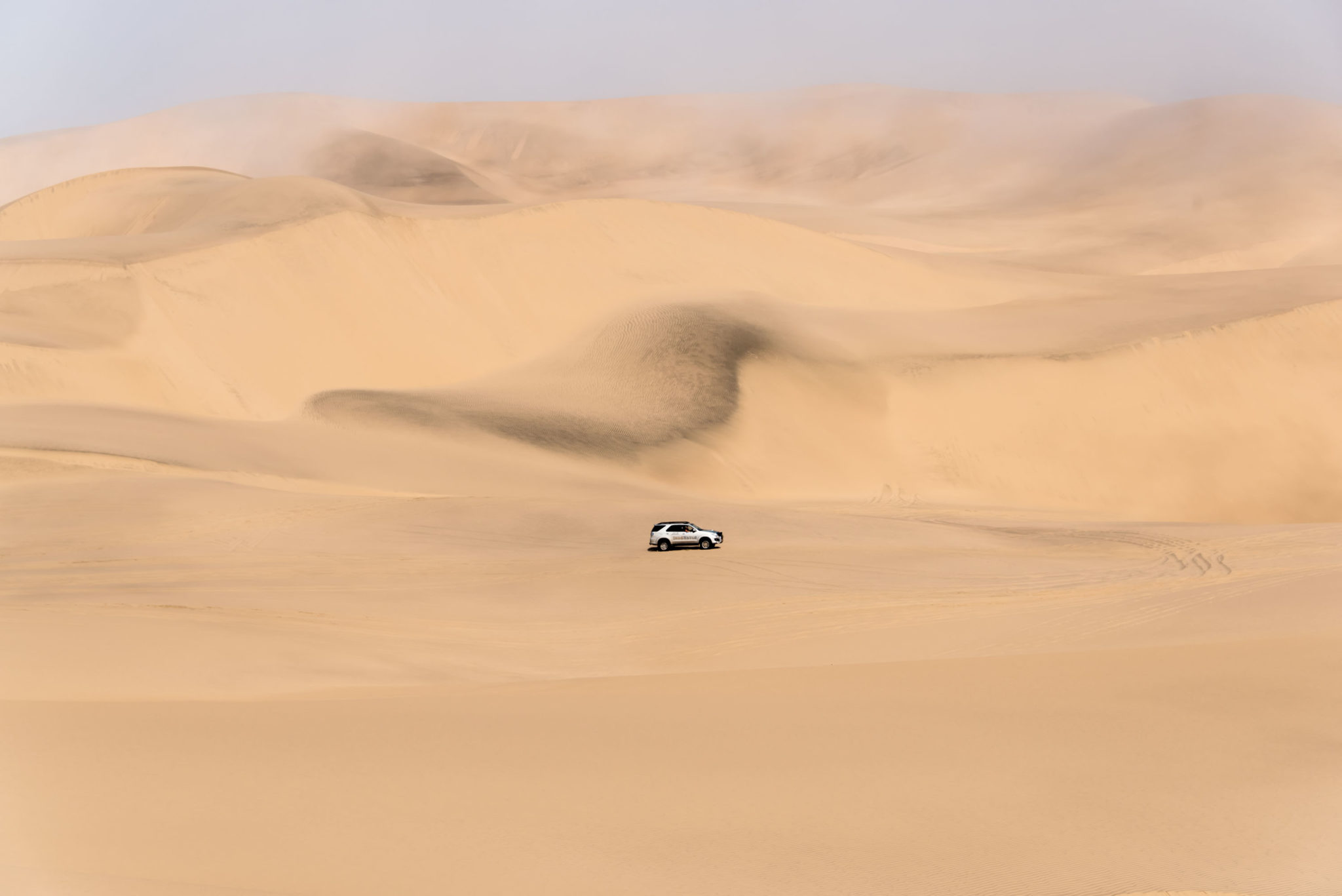 Sand dunes in stunning Namibia (Photo by Adrianne Brockman)
