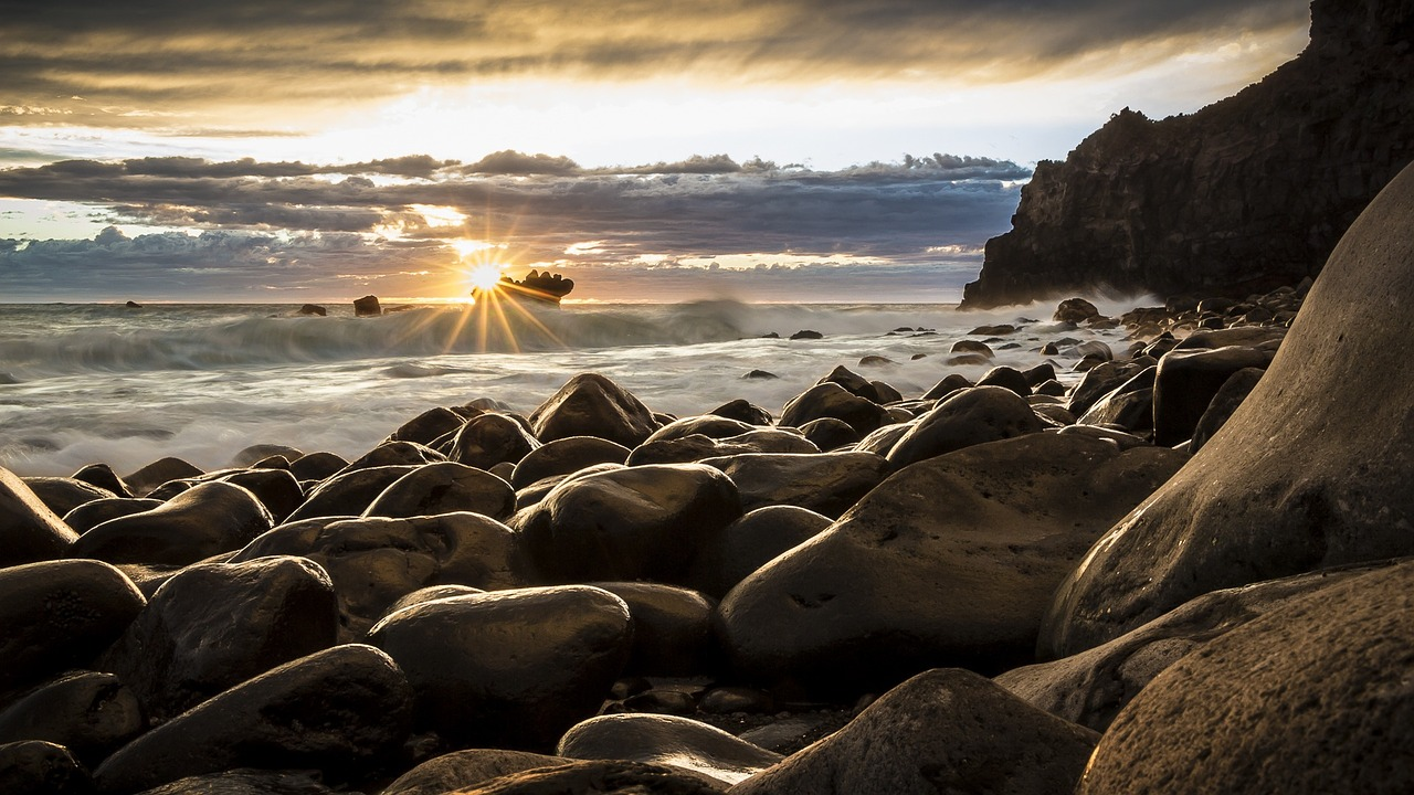 New Zealand seascape