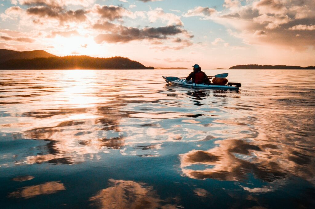 cold-weather kayaking