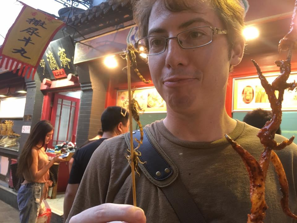 strange food move abroad