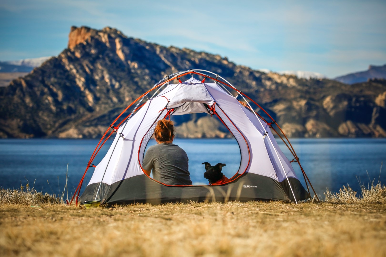 camping can be perfect travel accommodations