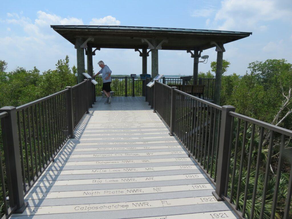 Centennial trail boardwalk floridas Space Coast