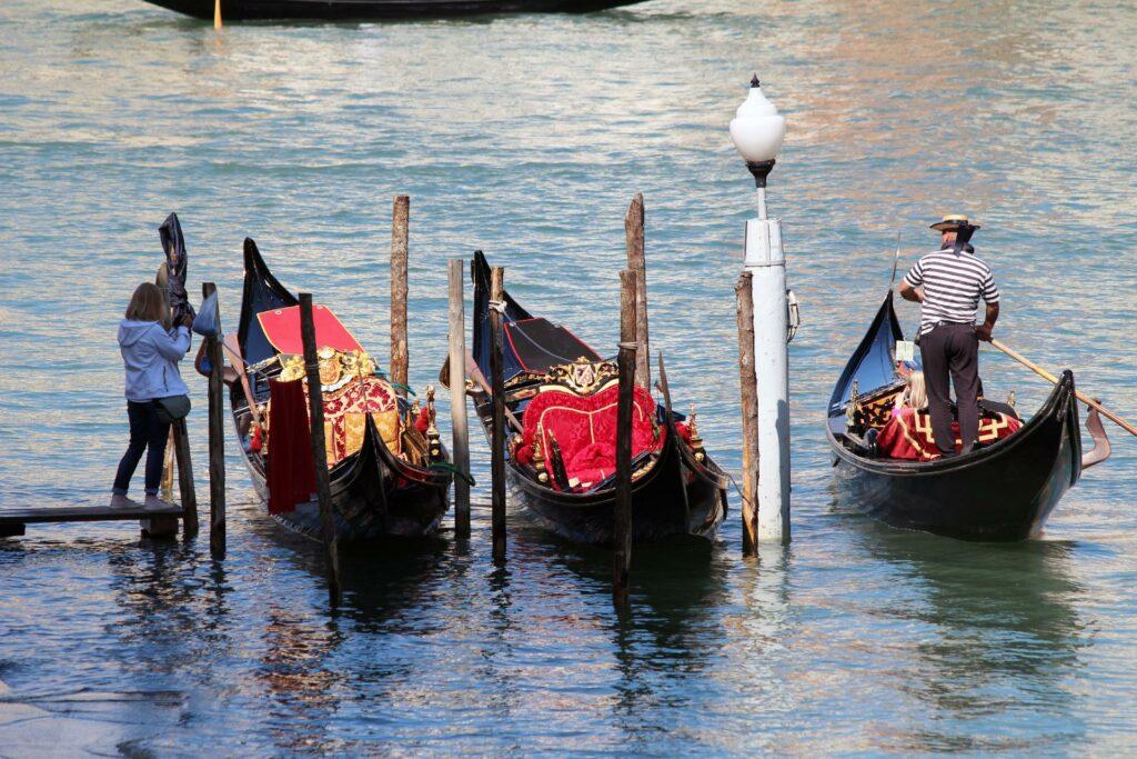gondola ride honeymoon in italy