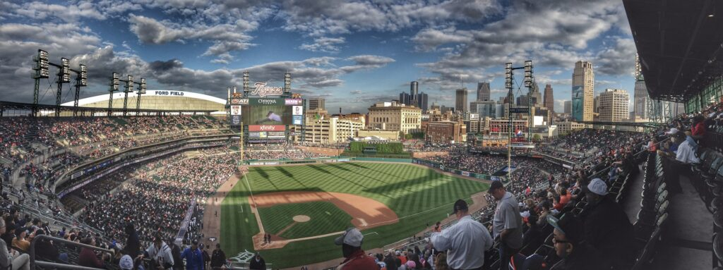 places in Detroit baseball