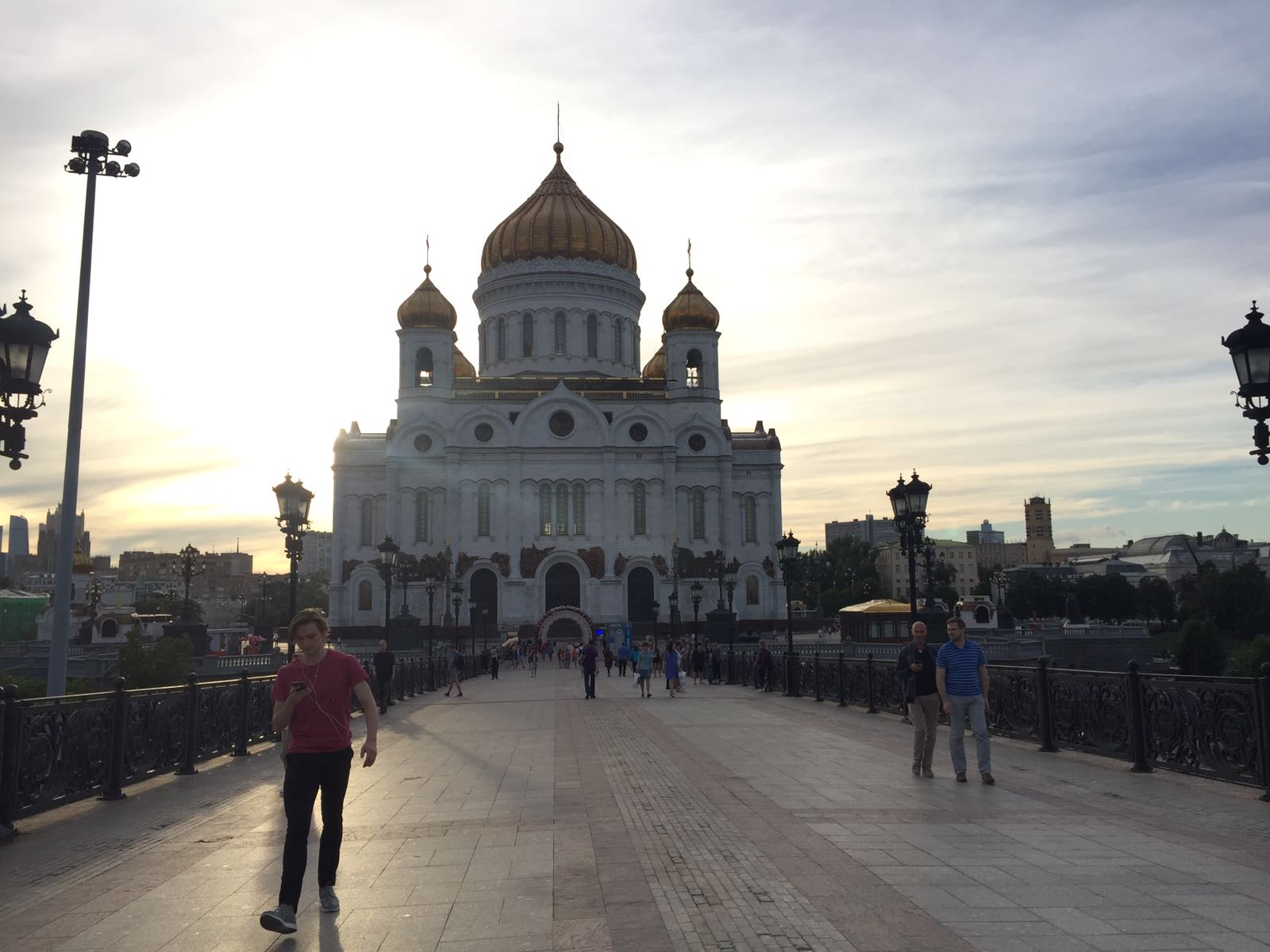 visit in Moscow The Cathedral of Christ the Saviour