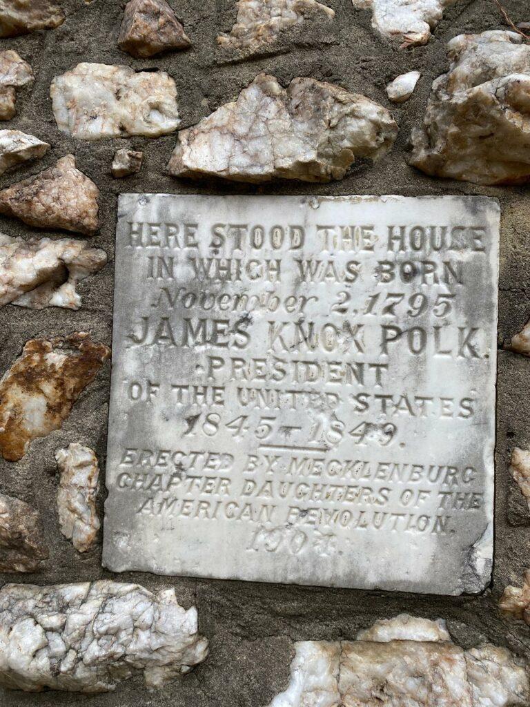 birthplace of President James Polk