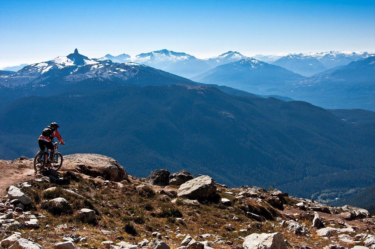 mountain biking terrain