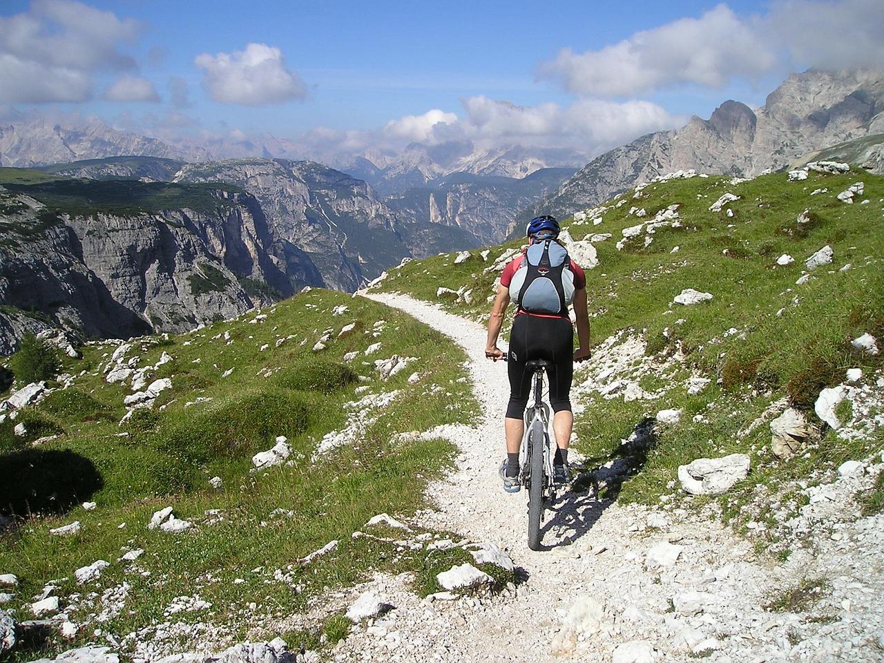 start mountain biking