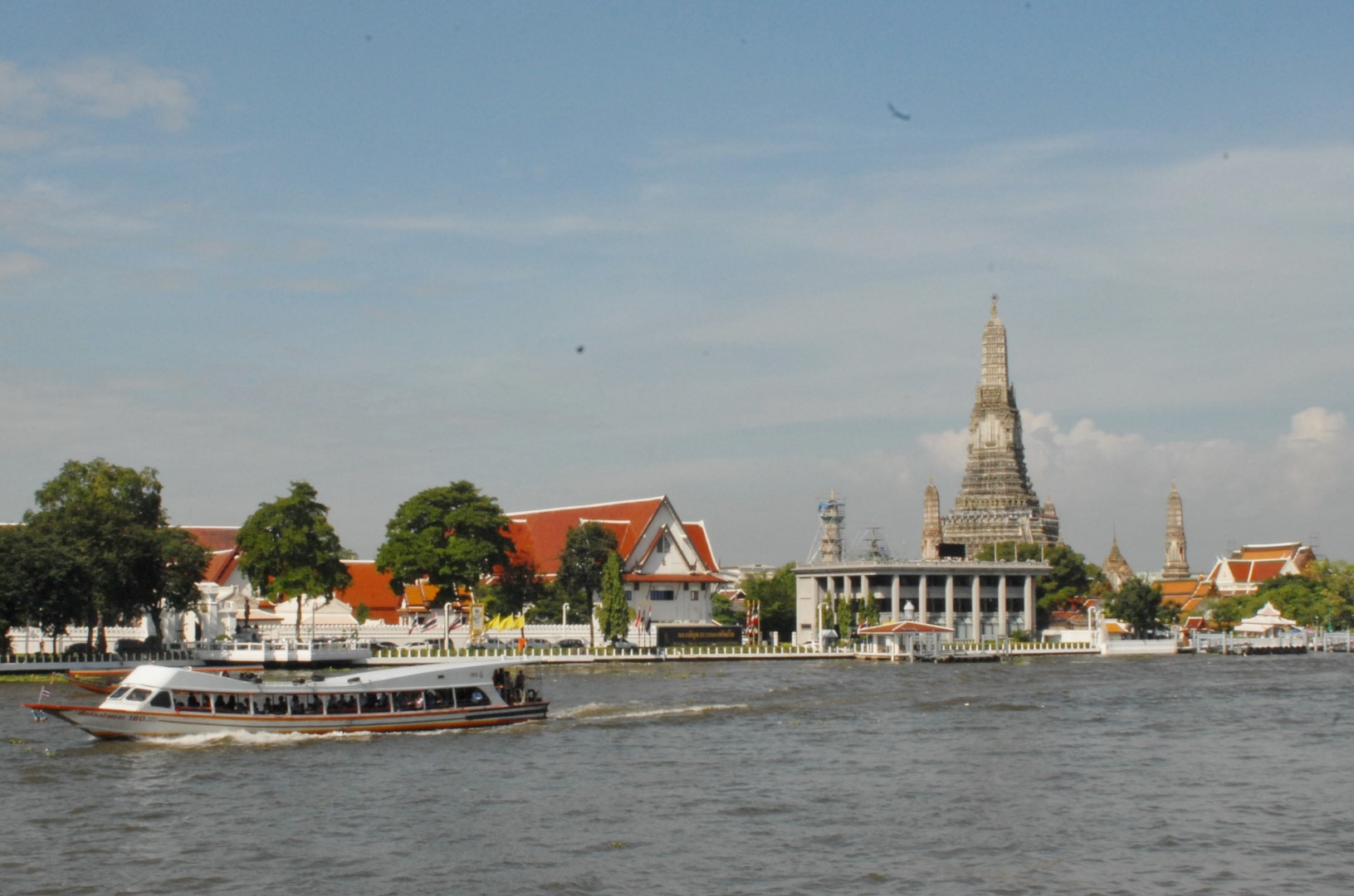 river buses in Bangkok Chao Phraya Nancy Zaffaro