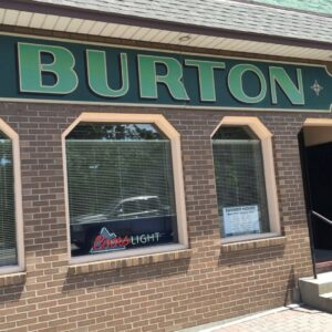 the Burton