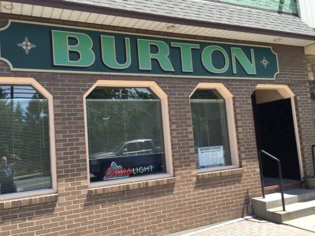 the Burton