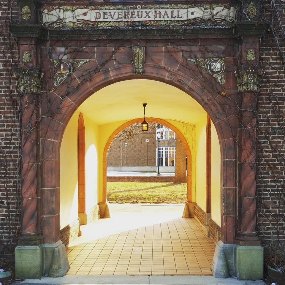The Burton archway