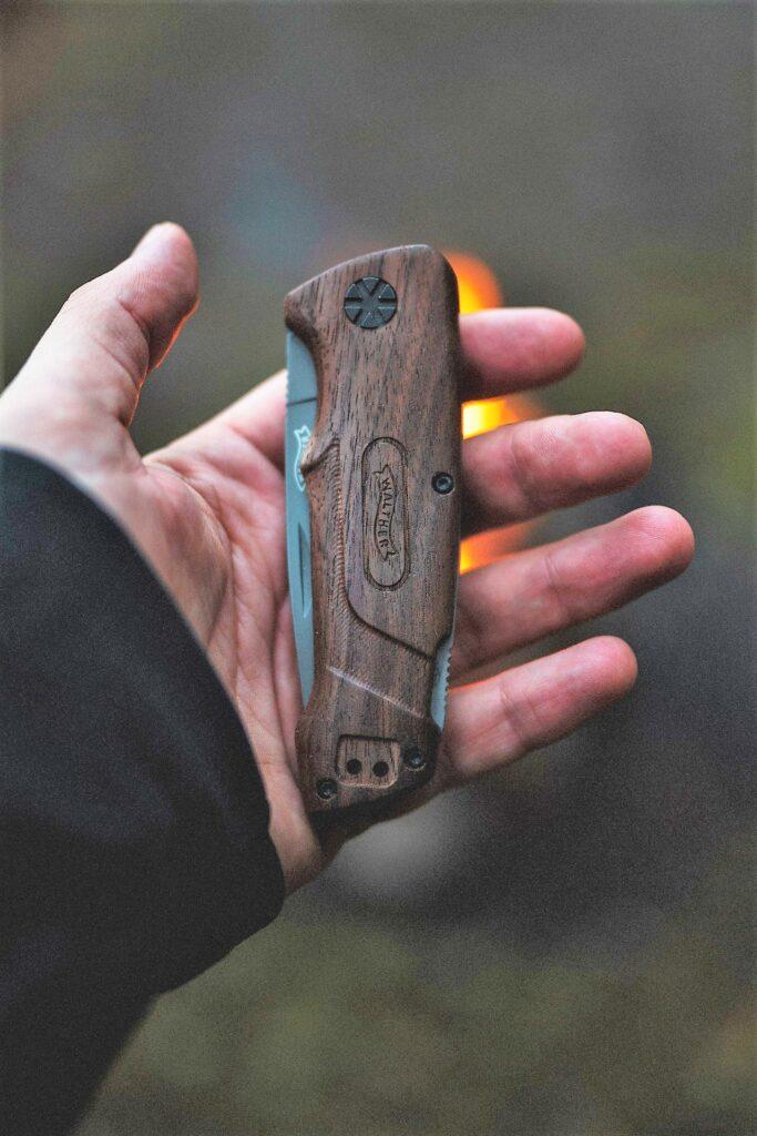 camping gear knife