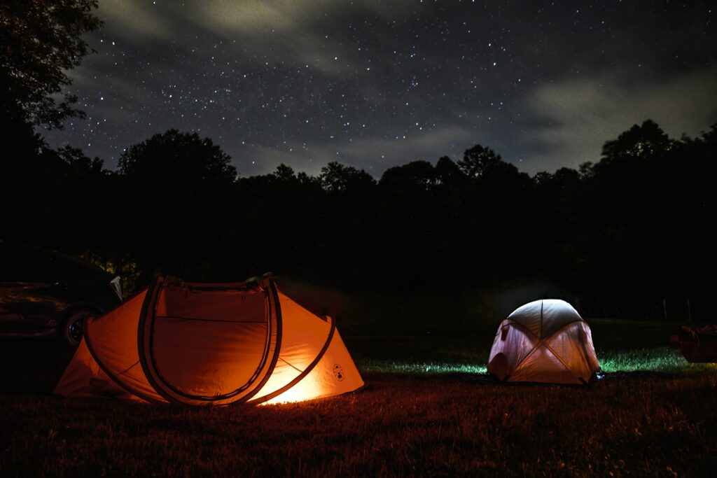 camping gear tents