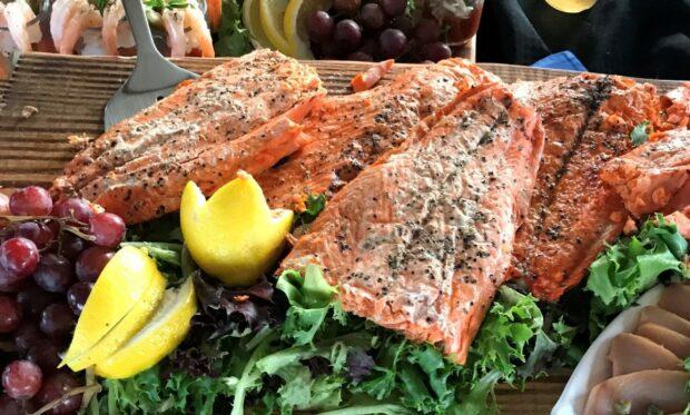 salmon dishes northwest Nancy Zaffaro