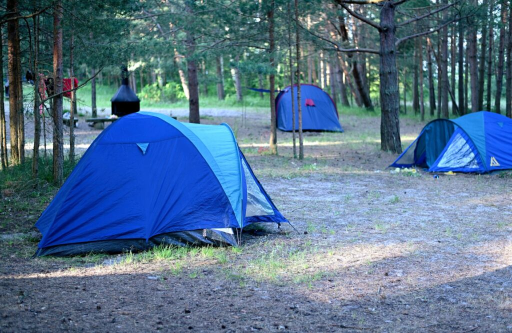 camping distance