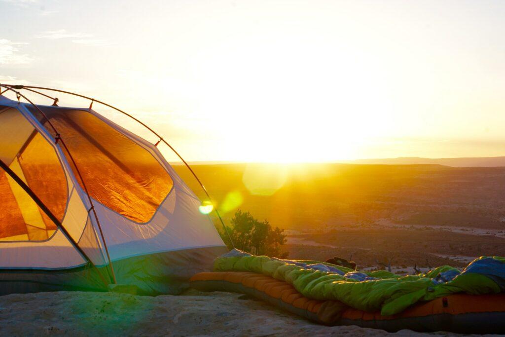 camping tent camping post-COVID